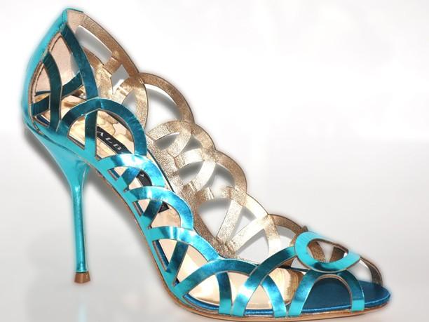 туфли с перламутром