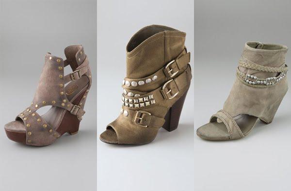 три типа обувки