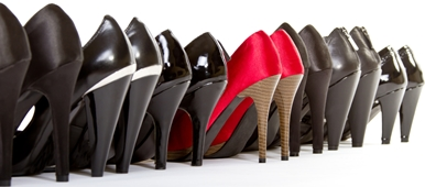 шеренга каблуков