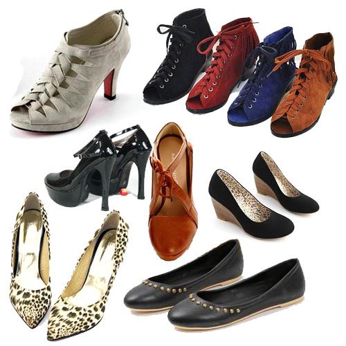 от туфель до сапог