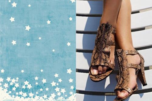 изящные летние туфли