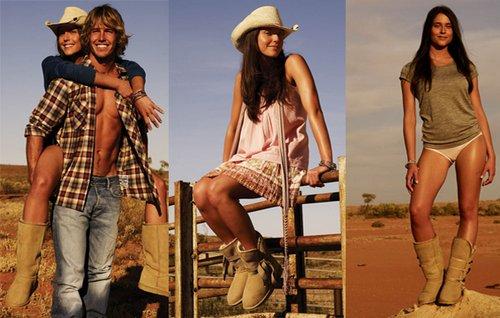 в жаркой пустыне