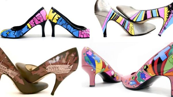 обувная радуга