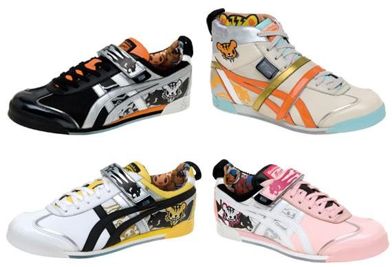 красочная обувь