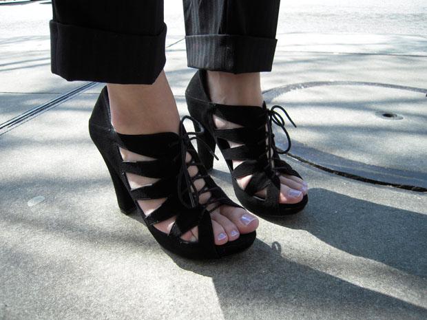 шикарные летние туфли