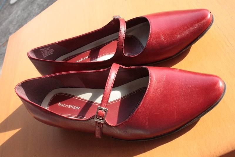 красные туфли бу